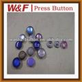Fashional botón rápido puntastamaño con perla, botón de metal de fábrica en china