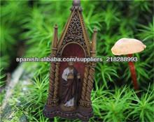 Valores religiosos estatuas de la resina mesa decoración
