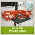 Sofá de estilo americano con muebles otomano, muebles americano
