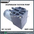 Série swp-1208 12v/24v électrique pompe à membrane dc miniature
