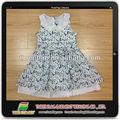 Nuevo vestido de la manera, odm las niñas faldas, niños vestidos de moda
