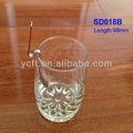 Sd018b açoinoxidável jam colher, uma colher de mel, preserva a colher