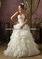 Venta caliente cariño volante a medida de cuentas 2013 balón vestido de novia vestido CWFXw20