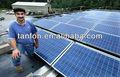 5000w energía solar kit de fácil instalación de energía solar del panel para fuera de la red, 24 horas de tiempo de trabajo