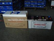 Batería de pilas de la batería N150 norma JIS coche del automóvil de 12 voltios seca cargada en Corea