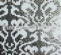 DSC0160 mural de azulejos de cocina flor cristal mosaico patrón mosaico imagen patrón