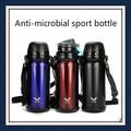 Anti- microbiana de acero inoxidable de los niños el deporte botella