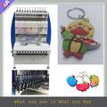 12 cores silicone chaveiro máquina de distribuição
