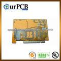de una sola capa pcb proyecto de circuito electrónico placa de circuito impreso
