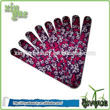 china 2014 lima de uñas con el caso triángulo lima de uñas de eva lima de uñas