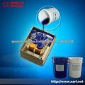 Electronic macetas de caucho de silicona de color gris