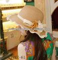 atractivo de vaquero de paja sombrero de ciclismo y la tapa de venta al por mayor