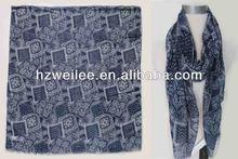 Wldl- r1541 elegante tribales los patrones de la señora de la moda mantón de pashmina bufanda