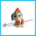 Gran venta de alta calidad de plástico 100% material seguro libre de la muestra del perro del juguete