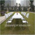 6ft rectángulo mesa plegable de plástico para el banquete/jardín/camping/picnic/de comedor