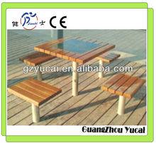 muebles de jardín al aire libre juego de la barra