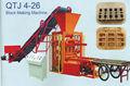 Qtj4-26 automática de cemento de ladrillo de hormigón que hace las máquinas de hormigón ligero bloque línea de producción