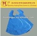 Bolsas de plástico bolsa camiseta HDPE