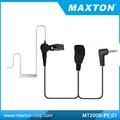 Militar- uso 2 auriculares de radio bidireccional para yaesu/vertex radios de dos vías
