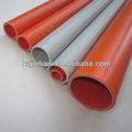 20mm tubos de pvc eléctrico para el cableado del conducto