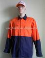 seguridad en el trabajo chaqueta de uniforme