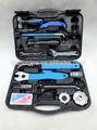 17 profesional de piezas de reparación de bicicletas kit de herramientas