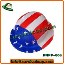 juego de fútbol de estados unidos de américa de fútbol sombrero de plástico
