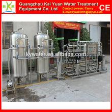2000l/h de acero inoxidable eléctrica ro de destilación de agua del filtro