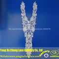 2014 oem nuevo de lujo química flexible de cromo de poliéster bordado de recorte