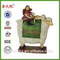 De promoción de las ovejas lindo adorno para la venta& ovejas estatuilla