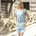 YIGELILA Señora elegante día Vestido Casual 6390