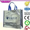 Venta caliente durable de alta calidad de moda nuevo no- tejido bolsa de tela del fabricante de china