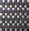 Mosaico De Vidrio Con Ceramico
