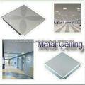 azulejos del techo de aluminio cuadrados