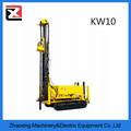 kw10 120m portátil giratorio hidráulico de agua de pozo de perforación