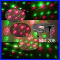 20 patrones coloridos sm-206 luz láser