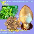 Verde natural de la cáscara de mandarina 10:1 extracto
