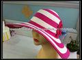 2013 verano ala ancha mujer sombrero de paja de papel