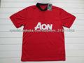 13/14 oficial del club de fútbol de encargo Jersey del fútbol camiseta de fútbol