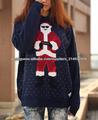Mens Womens Unisex Inverno Quente feio Papai Noel camisola do Natal Camisola Knitting Top Novidade