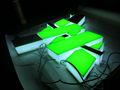 Letras de canal de acrílico LED