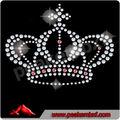 hermoso de acrílico cristal de piedras de la corona de la cadena de diamantes de imitación