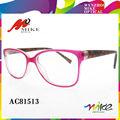 El último 2014 gafas de marcos para las niñas, brillante color de monturas de gafas