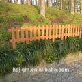 al aire libre de madera pequeña cercas para jardines