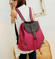2014 diseño fabricación niñas personalizada mochila de lona mochila walmart