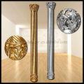 Frp decoración columna romana/pilar de la pu columna romana/decoración de hogar/columna de fibra de vidrio