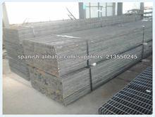 Acero inoxidable, aluminio, acero al carbono rejilla