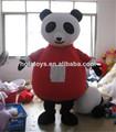 adultos traje de oso panda para la venta