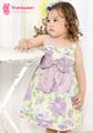 Design de moda por atacado vestidos de meninas pequeno bebê