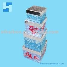 2011 hermosa navidad caja de dulces